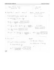 Torsion Problem Set 1