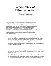 A Dim View of Libertarianism.doc