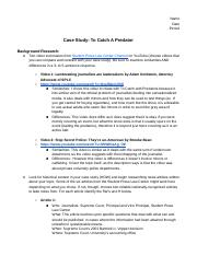 Journalism Notes_Ethics Case Study: To Catch A Predator