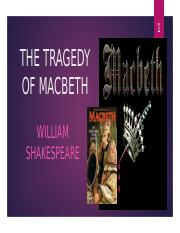 an analysis of a tragic hero in shakespeares macbeth Macbeth study guide contains a biography of william shakespeare, literature essays, a complete e-text, quiz questions, major themes, characters, and a full summary and analysis.