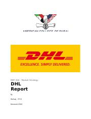 DHL Report