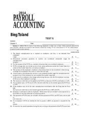 payroll accounting chapter 7 answer key