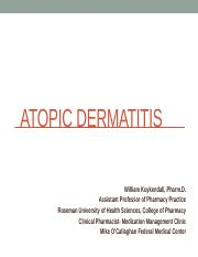 Atopic Dermatitis Students 2012-2013.pptx