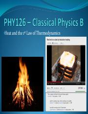 09 - Heat and the First Law of Thermodynamics