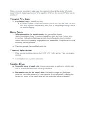 Porter's 5 Forces Analysis.docx