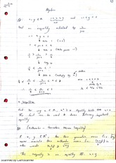 Inequalities Lecture Notes