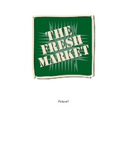 Rough Draft of The Fresh Market Group Project