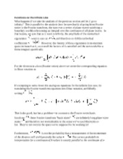 Infinite Line Functions notes
