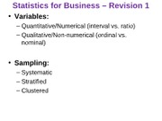 Statistics_for_Business_-_Tutorial_6