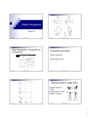 Session 4_Pattern Recognition_handout