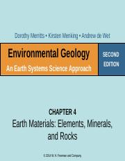 Week 5 Lecture Earth Materials