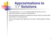 20-approximations
