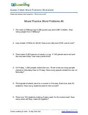 Math Word Problem Worksheet - Grade 3 - Free and Printable.pdf