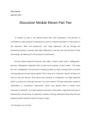 CJE DISCUSSION 11 PART 2 docx