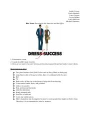 Dress for Success 4-13.docx
