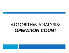 3-Analysis-of-Algo-Operation-Count