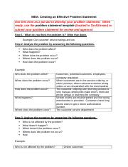 Create Effective Problem Statement(2)