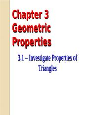1 - Investigate Properties of Triangles.ppt