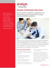 Avaya Common Servers Fact Sheet UC4824.pdf