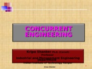 IME641 - DOPS-2.3.3 Concurrent Engineering