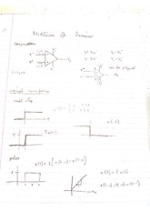 Midterm 2 Review Notes (USC EE 202L Fall 2014 - Linear Circuits)