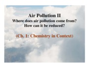 Lec2 Air Pollution II