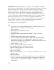 Professional development term paper
