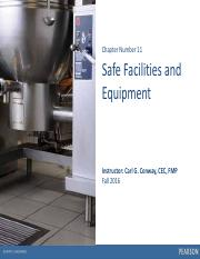 Chapter 11 -  Facilities & Equip S2016Handout