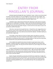 ENTRY FROM MAGELLAN'S JOURNAL.docx