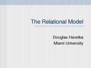 The+Relational+Model