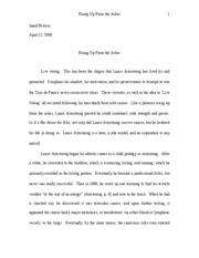 endicott college essay questions