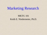 MKTG101-4. Marketing ResearchWC