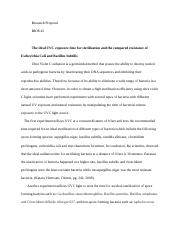 BIOS 42 Research Proposal