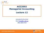 Lecture 12 - Decision Making