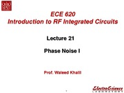 Lect21_Phase Noise I