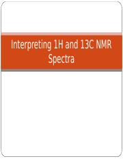 Interpreting 1H and 13C NMR Spectra-2-5