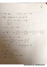 Determinants Lecture Notes