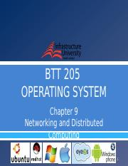 [10] Chapter 9 - Networking and Distributed Computing