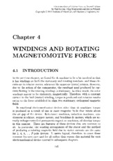 Windings and Rotating Magnetomotive Force