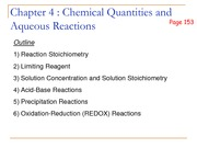 Chapter4a Limiting Reagents and Solubility for students