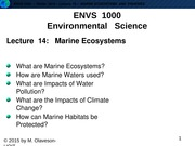 W2015-Lecture 14-Marine Ecosystems-posted
