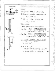 163_Mechanics Homework Mechanics of Materials Solution