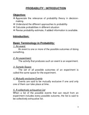 Probability-Introduction