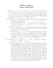 PHY 204B Midterm solutions
