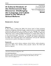 SOCY125 Framing the Achievement Gap.pdf