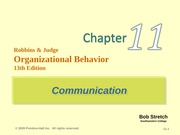 robbins-organization behaviour-chapter 11