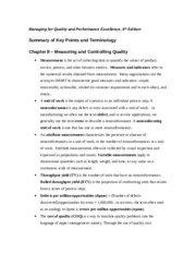 Q9E-Summary of Key Points and Terminology - Chapter 8