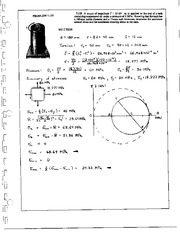 860_Mechanics Homework Mechanics of Materials Solution