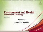 HSS3303A 3 Principles of Toxicology Student
