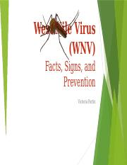 West Nile Virus (WNV)